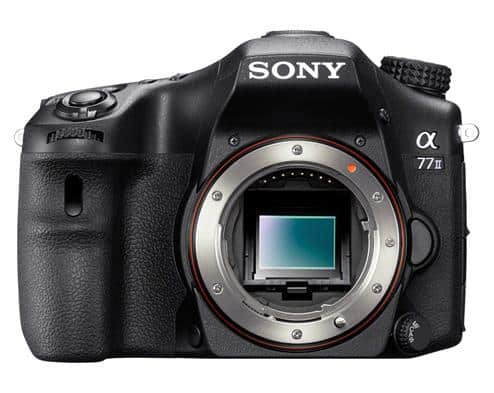 Sony alpha 77 and 2 new E-mount lenses
