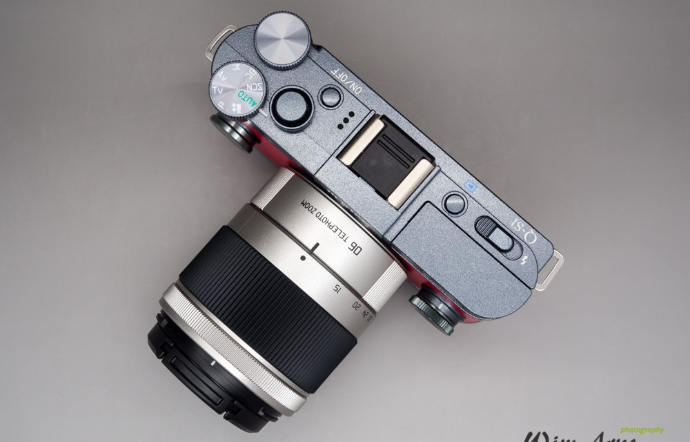pentax Q-S1 with Pentax 06 tele zoom lens