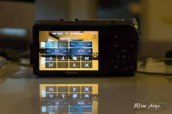 Samsung NX500, tips, tricks